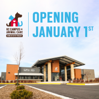 Kansas City Campus for Animal Care Opening January 1, 2020