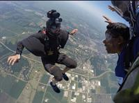 Skydiving....