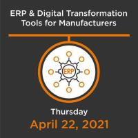 ERP & Digital Transformation Tools for Manufacturers