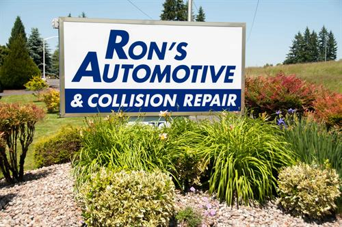 Ron's Automotive Hazel Dell Collision Entrance