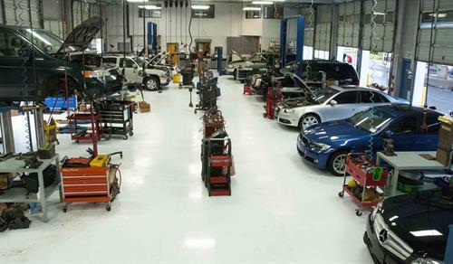 Ron's Automotive Cascade Park Shop Area
