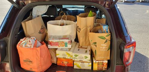 2018 Food drive. Donated to the Mission.