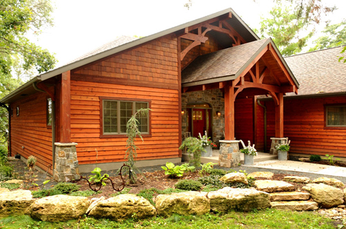 Timber Style Home