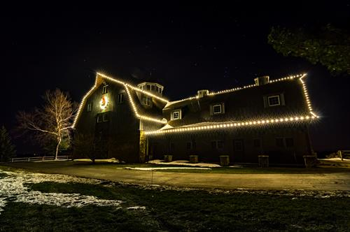 Barn - Holiday Lighting - Warm White - Residential