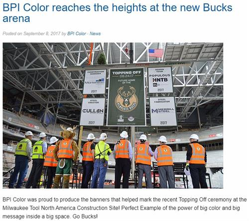Milwaukee Bucks Banners - JP Cullen - BPI News