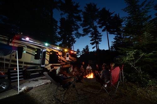 Campsite Fire Rings