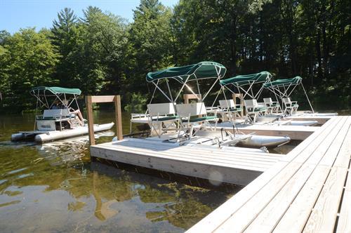 Paddle Boat Pond