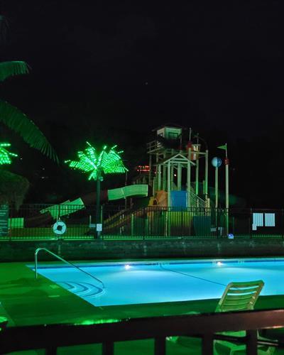 Pool with Spray Pad LeeKee Lagoon