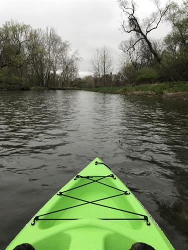 Kayaking the Genesee River