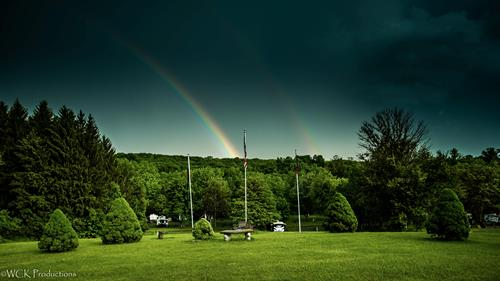 Rainbow and Memorial.