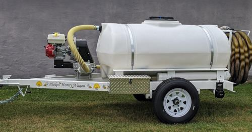 300GH honey wagon with industrial 3 inch pump and optional tool box