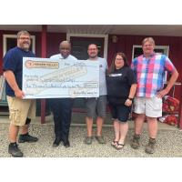 HIdden Valley Camping Area holds check presentation ceremony for Camp Good Days