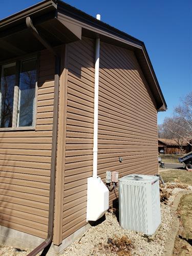 Sub Slab Ventilation Fan