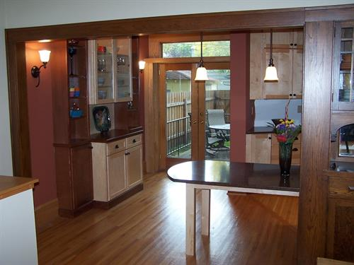Dining -Family Friendly Kitchen
