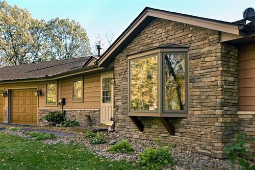 Steel and Stone Siding