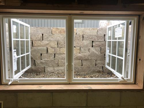Custom Custom Egress Window & Well