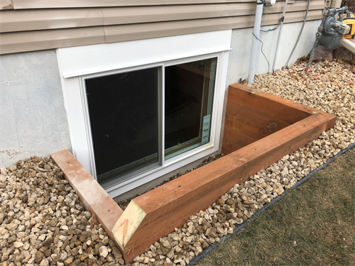 Custom Egress Window & Well