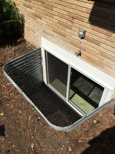 Egress Window & Well