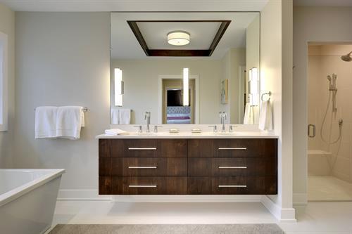 Kellogg Modern Master Bathroom