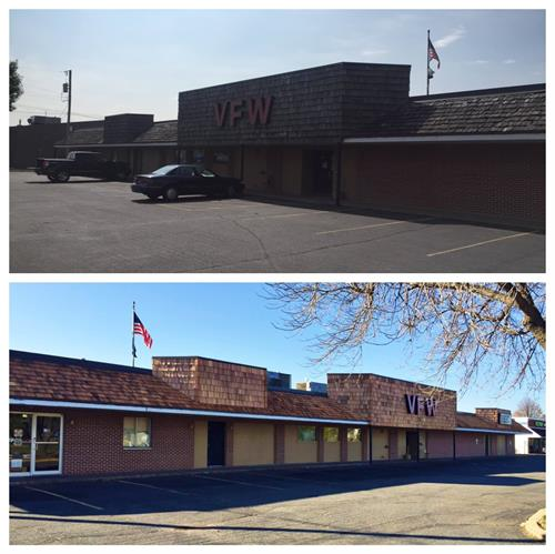 Before and After of the VFW