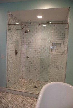 Historic bathroom remodel