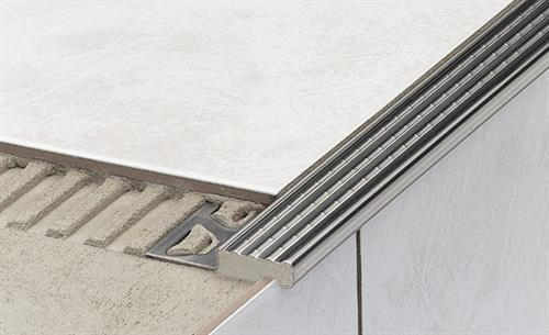 Thin-Set Stair Protection