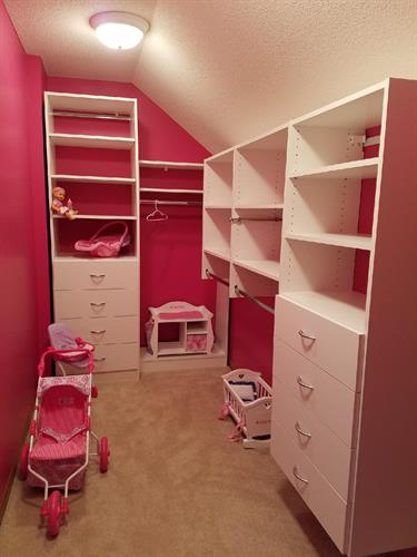 Custom Closet Systems - Children's Closets
