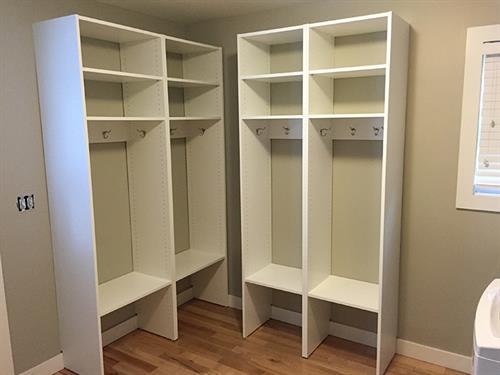 Mudroom & Front Entry Custom Organization