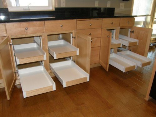 Kitchen & Pantry Organization - Pull Out Shelves