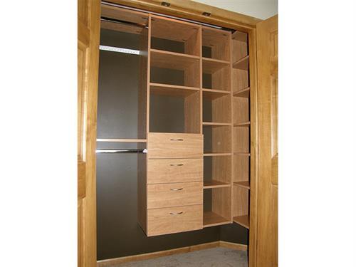 Custom Closet Systems - Walk-in Closet