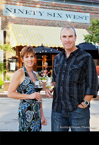 Owners Tami Redshaw and Edward Smith III