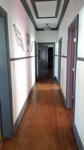 Front hallway leading to bedrooms