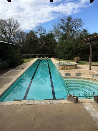 Sun Pools can design custom lap pools.