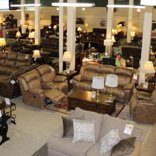 Enjoy No-Pressure Shopping In Our Three-Story Retail Showroom.  Huge Selection In Stock And Ready To Delivery!