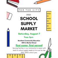 For The City - 4th Annual Community Wide School Supply Drive