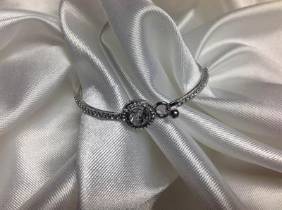 Clear Bangle Bracelet.  $5.00