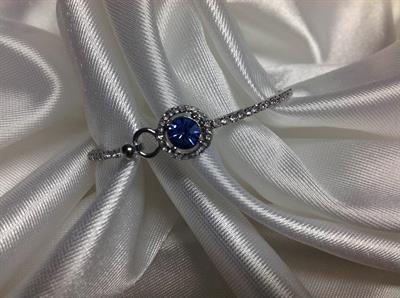 Lt. Sapphire Bangle Bracelet.  $5.00