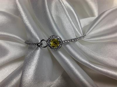 Yellow TPZ Bangle Bracelet.  $5.00