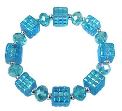 TQ Cube Stretch Bracelet. $5.00