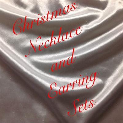 Christmas Neckalce and Earrings Sets, Bracelets, & Earrings Sold in 2016