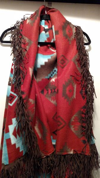 Aztec Duster available in a variety of patterns.