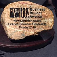 2016 Finalist NSBA Business Builder - New Direction Award - Firebird Business Consulting Ltd