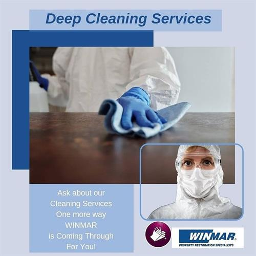 WINMAR Deep Cleaning Services