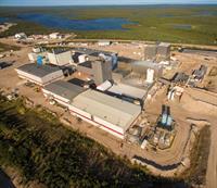 Orano's McClean Lake mill over 750km north-east of Saskatoon