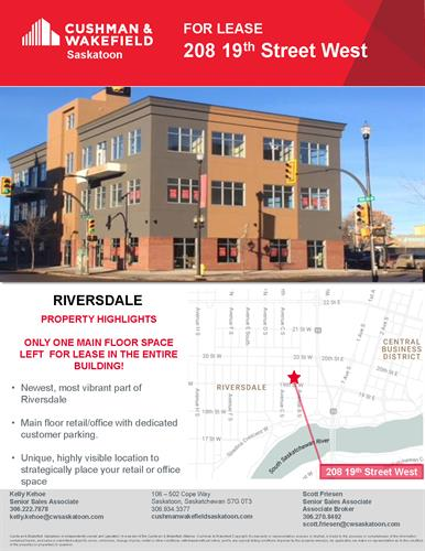 New building in Riversdale for lease, one bay left!