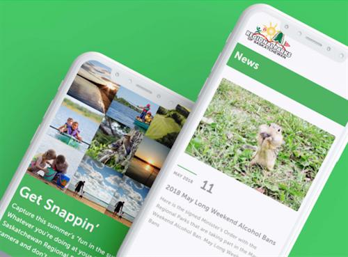 SK Regional Parks Website