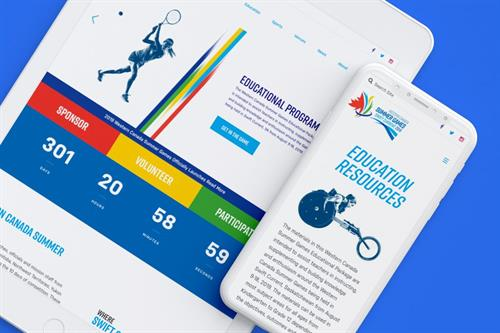 Western Canada Summer Games 2019 Website