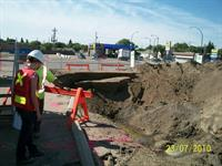 Site Geotechnical Inspection on 22nd Street