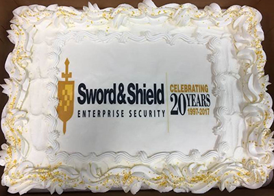 Sword & Shield celebrating 20 years of protecting data!