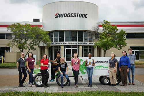 Play Like a Girl STEM Field Trip to Bridgestone